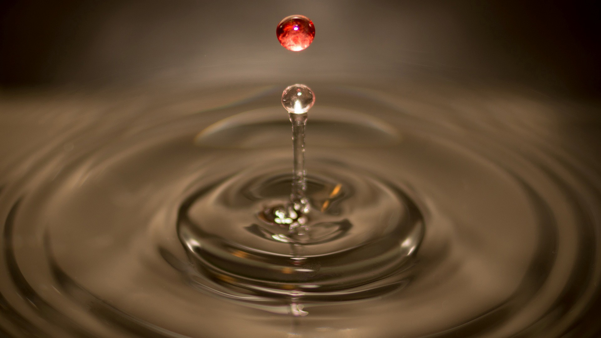 Blood and Water Ripple Christian Stock Photo (1)
