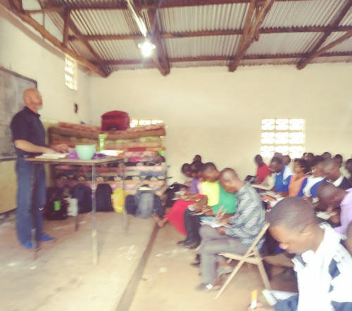 April 2017 - Teaching a Systematic Theology class in Malawi, Africa (April 2018)